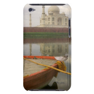 Canoe in water with Taj Mahal, Agra, India Barely There iPod Cover
