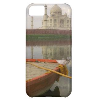 Canoe in water with Taj Mahal, Agra, India iPhone 5C Case