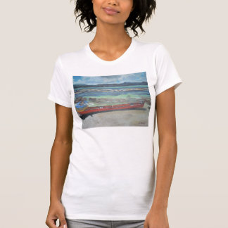 Canoe & Raft on Shell Island T-Shirt