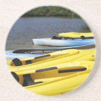 Canoe Trip Drink Coaster