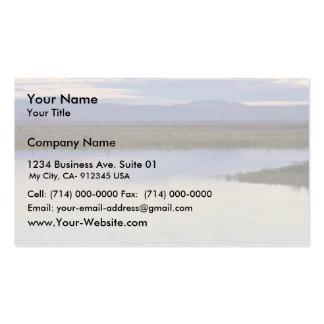 Canoeing at Kanuti National Wildlife Refuge Business Card