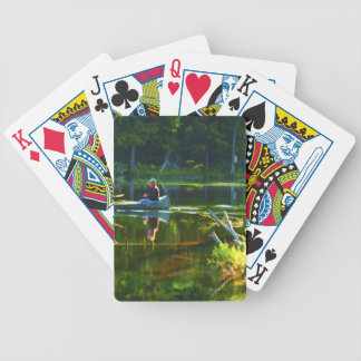 Canoeing in the Adirondacks Bicycle Card Deck