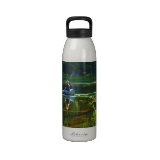 Canoeing in the Adirondacks Reusable Water Bottles
