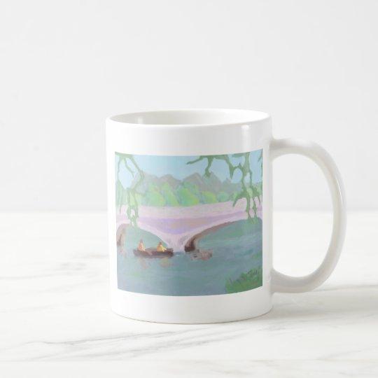 Canoeing Peaceful Solitude, Mug
