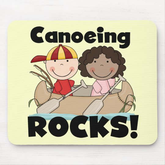 Canoeing Rocks One Tshirts and Gifts Mouse Mat