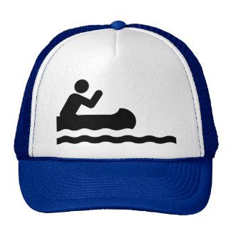 Canoeing Symbol Hat