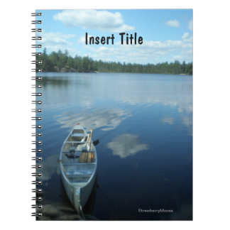 Canoeing the Boundary Waters v.1 Spiral Notebooks