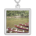 Canoeing the Macal River, Belise Personalised Necklace