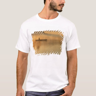 canoeist, Algonguin Park, Ontario, Canada. T-Shirt