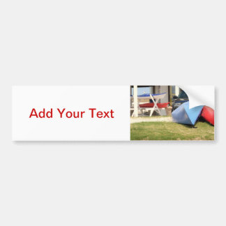 Canoes And Kayaks Car Bumper Sticker