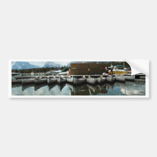 Canoes Bumper Stickers