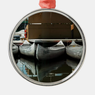 Canoes Christmas Ornament