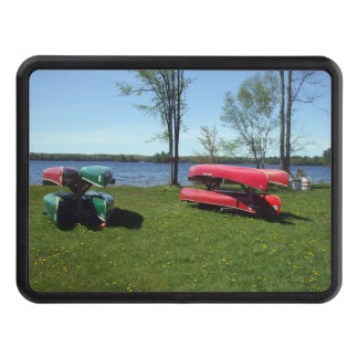 Canoes on a Beach Hitch Covers