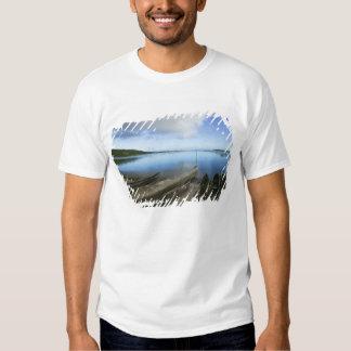 Canoes on the beach, Antananarivo, Madagascar T Shirt