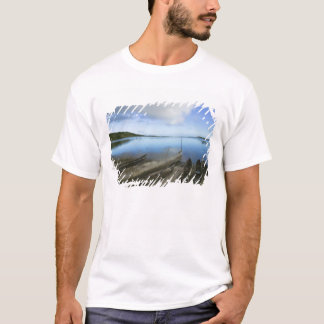 Canoes on the beach, Antananarivo, Madagascar T-Shirt