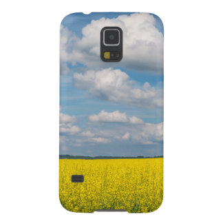 Canola Field & Clouds Galaxy S5 Cases