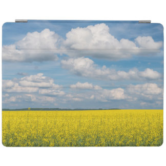 Canola Field & Clouds iPad Cover