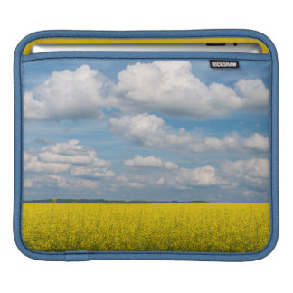 Canola Field & Clouds iPad Sleeve