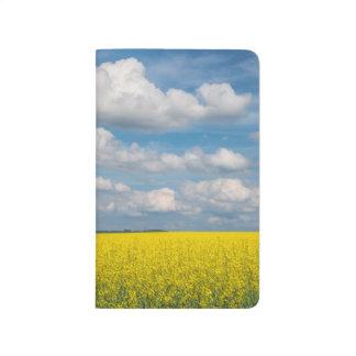 Canola Field & Clouds Journal