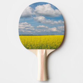 Canola Field & Clouds Ping Pong Paddle