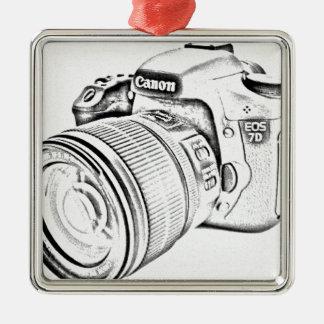 Canon 7d christmas ornament
