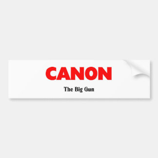 Canon Georgia Bumper Sticker
