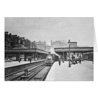 Canonbury Station Islington c 1905 Greeting Cards