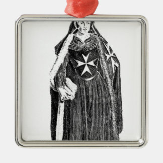 Canoness of the Order of St. John of Jerusalem Christmas Ornament