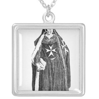 Canoness of the Order of St. John of Jerusalem Silver Plated Necklace