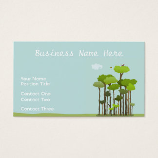 Canopy View Business Card