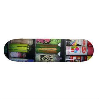 Cans Skate Board