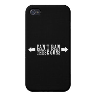 Can't Ban These Guns iPhone 4 Cover