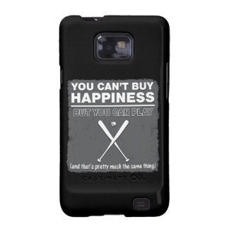 Can't Buy Happiness Baseball Samsung Galaxy S2 Cover