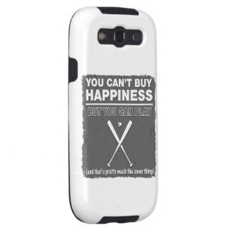 Can't Buy Happiness Baseball Samsung Galaxy S3 Cover