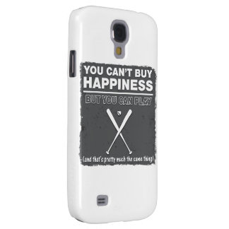 Can't Buy Happiness Baseball Samsung Galaxy S4 Covers