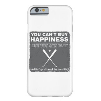 Can't Buy Happiness Baseball Barely There iPhone 6 Case