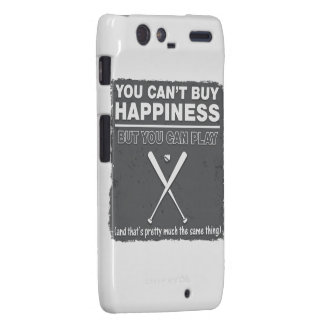 Can't Buy Happiness Baseball Droid RAZR Covers