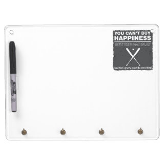 Can't Buy Happiness Baseball Dry-Erase Whiteboards