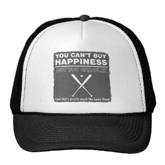 Can't Buy Happiness Baseball Mesh Hats