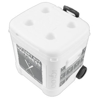 Can't Buy Happiness Baseball Igloo Roller Cooler