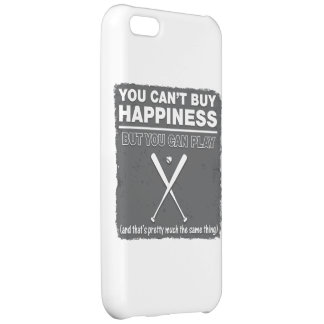 Can't Buy Happiness Baseball iPhone 5C Covers