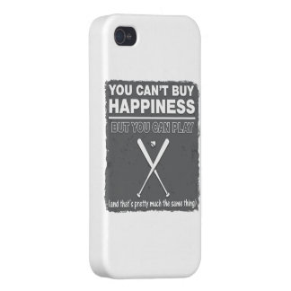 Can't Buy Happiness Baseball iPhone 4 Covers