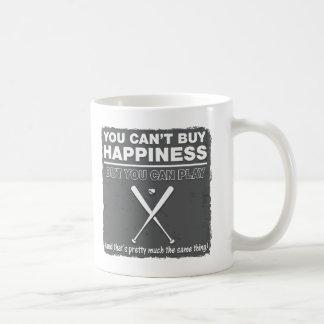 Can't Buy Happiness Baseball Mug