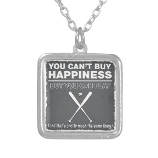 Can't Buy Happiness Baseball Jewelry