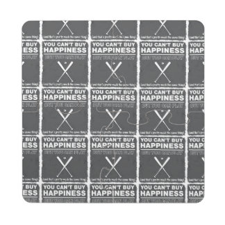 Can't Buy Happiness Baseball Puzzle Coaster