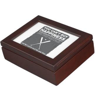 Can't Buy Happiness Baseball Memory Box