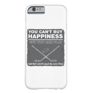 Can't Buy Happiness Hockey Barely There iPhone 6 Case