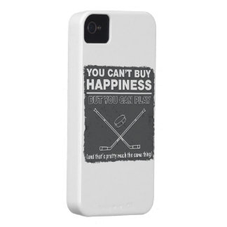 Can't Buy Happiness Hockey Case-Mate iPhone 4 Case