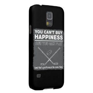 Can't Buy Happiness Hockey Case For Galaxy S5