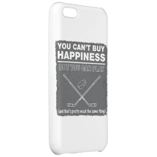 Can't Buy Happiness Hockey Case For iPhone 5C